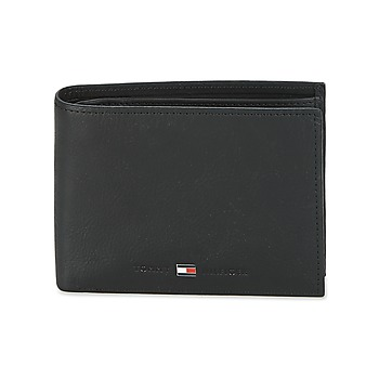 Tassen Heren Portefeuilles Tommy Hilfiger JOHNSON CC AND COIN POCKET Zwart