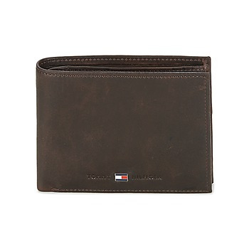 Tassen Heren Portefeuilles Tommy Hilfiger JOHNSON CC AND COIN POCKET Bruin