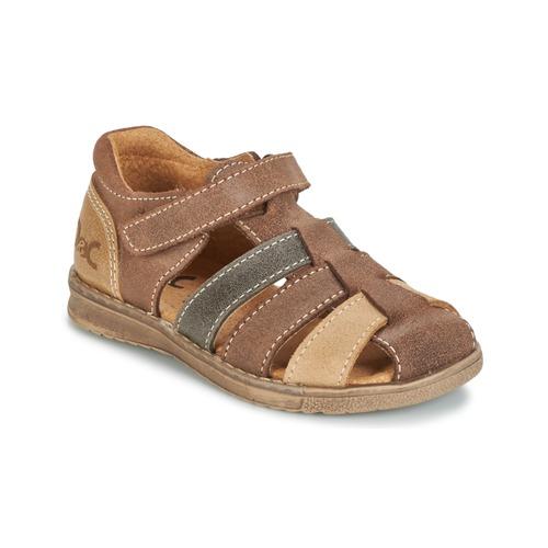 Schoenen Jongens Sandalen / Open schoenen Citrouille et Compagnie FRINOUI Bruin