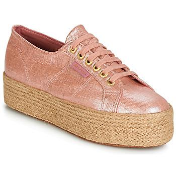 Schoenen Dames Lage sneakers Superga 2790 LINRBRROPE Roze