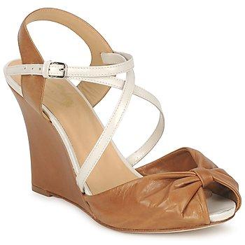 Schoenen Dames Sandalen / Open schoenen Paul & Joe MYRTI Camel / Ecru