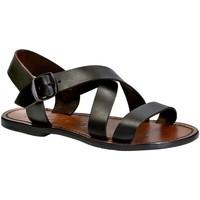 Schoenen Dames Sandalen / Open schoenen Gianluca - L'artigiano Del Cuoio 508X D MORO CUOIO Testa di Moro