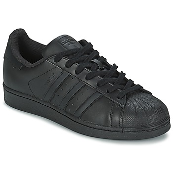 Schoenen Heren Lage sneakers adidas Originals SUPERSTAR FOUNDATION Zwart