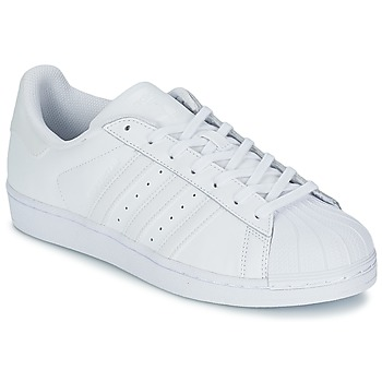 Schoenen Lage sneakers adidas Originals SUPERSTAR FOUNDATION Wit