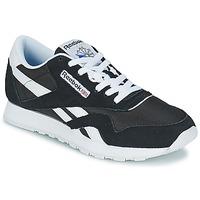 Schoenen Heren Lage sneakers Reebok Classic CL NYLON Zwart / Wit