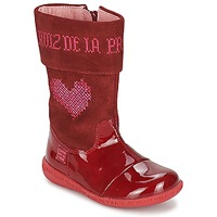 Schoenen Meisjes Hoge laarzen Agatha Ruiz de la Prada DAFNE Rood