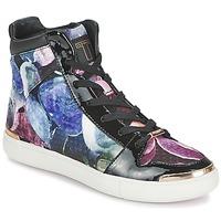 Schoenen Dames Hoge sneakers Ted Baker MADISN Zwart / Multicolour