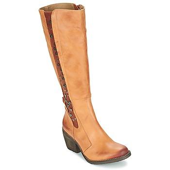 Schoenen Dames Hoge laarzen Dkode LEANNE Cognac