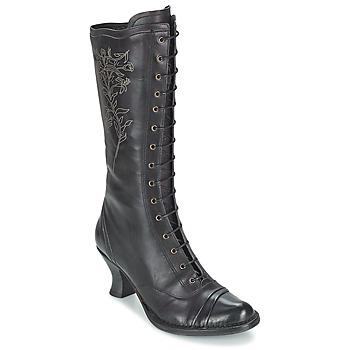 Schoenen Dames Hoge laarzen Neosens ROCOCO Zwart