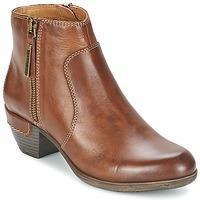 Schoenen Dames Low boots Pikolinos ROTTERDAM MILI 902 Bruin