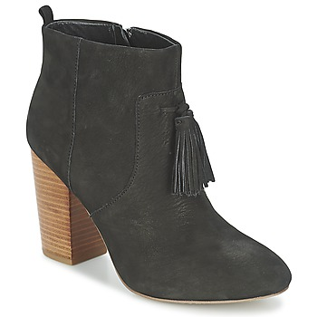 Schoenen Dames Enkellaarzen French Connection LINDS Zwart