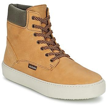 Schoenen Dames Hoge sneakers Victoria BOTA MONTANA PIEL/CUELLO Oker