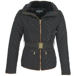Textiel Dames Dons gevoerde jassen Best Mountain AOUINETI Zwart