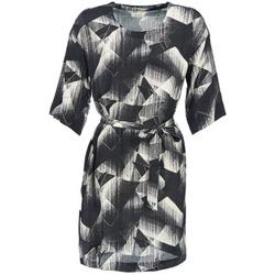 Textiel Dames Korte jurken Nümph GINGER Zwart / Wit