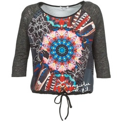 Textiel Dames T-shirts met lange mouwen Smash ANNABEL 42 Grijs / Multi
