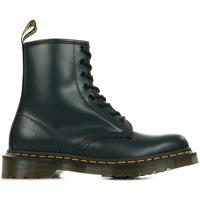 Schoenen Dames Laarzen Dr Martens 1460 Smooth Blauw