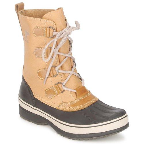 Schoenen Heren Snowboots Sorel KITCHENER CARIBOU Curry / Steen