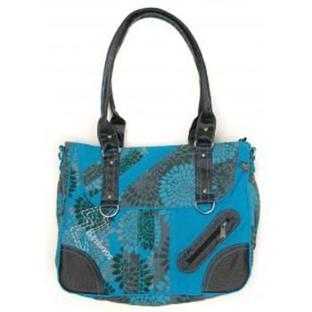 Tassen Dames Schoudertassen met riem Bamboo's Fashion Petit Sac Besace Sydney GN-147 Bleu Blauw