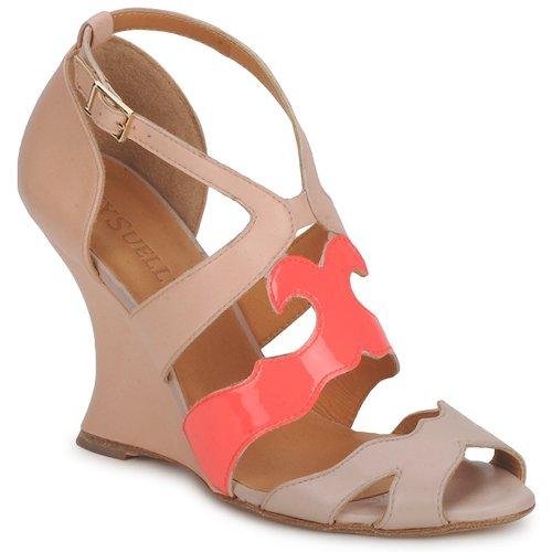 Schoenen Dames Sandalen / Open schoenen MySuelly PAULINE Taupe / Grenadine