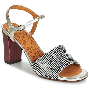 Schoenen Dames Sandalen / Open schoenen Chie Mihara PARIGI Zilver / Zwart