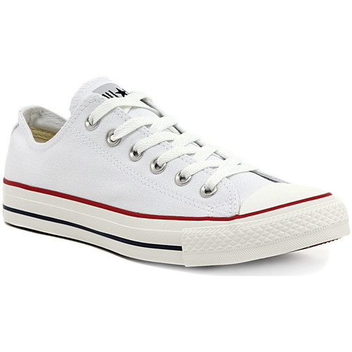 Schoenen Dames Lage sneakers Converse ALL STAR OX  OPTICAL WHITE Multicolore