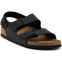 Schoenen Sandalen / Open schoenen Birkenstock MILANO SCHWARZ Multicolore