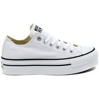 Schoenen Dames Lage sneakers Converse ALL STAR  PLATFORM OX  WHITE    123,8