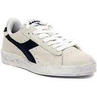Schoenen Lage sneakers Diadora GAME LOW WAXED BLU Multicolore