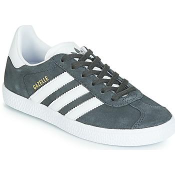 Schoenen Kinderen Lage sneakers adidas Originals GAZELLE C Grijs