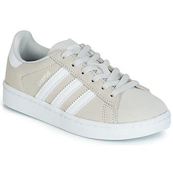 Schoenen Kinderen Lage sneakers adidas Originals CAMPUS C Grijs