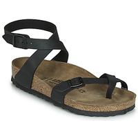 Schoenen Dames Sandalen / Open schoenen Birkenstock YARA Zwart