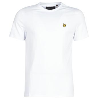 Textiel Heren T-shirts korte mouwen Lyle & Scott FAFARLITE Wit