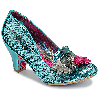 Schoenen Dames pumps Irregular Choice CARIAD Blauw
