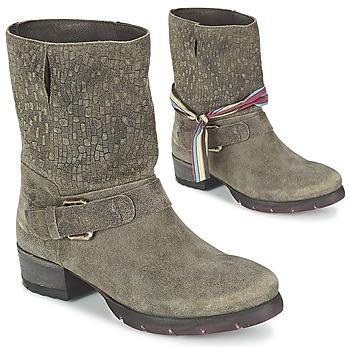 Schoenen Dames Laarzen Felmini RARSA Bruin