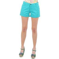 Textiel Dames Korte broeken / Bermuda's Vero Moda RIDER 634 DENIM SHORTS - MIX Turquoize