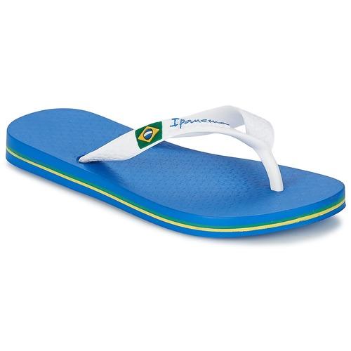 Schoenen Jongens Teenslippers Ipanema CLASSICA BRASIL II KIDS Blauw / Wit