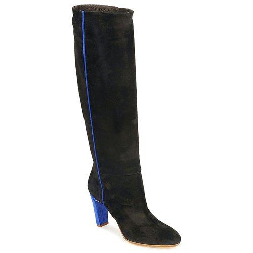 Schoenen Dames Hoge laarzen Michel Perry 13184 Zwart