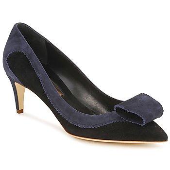 Schoenen Dames pumps Rupert Sanderson BESSIE Blauw / Zwart