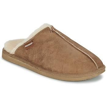 Schoenen Heren Sloffen Shepherd HUGO Camel