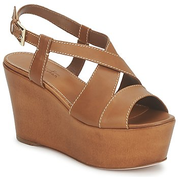 Schoenen Dames Sandalen / Open schoenen Sebastian S5270 Nude