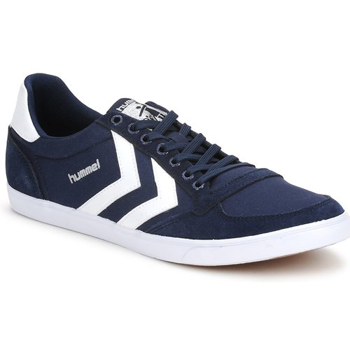 Schoenen Lage sneakers Hummel TEN STAR LOW CANVAS Marine