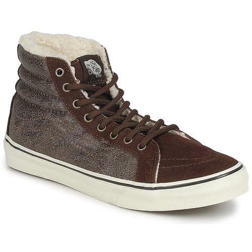 Schoenen Dames Hoge sneakers Vans CHUKKA SLIM Bruin