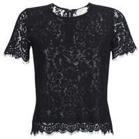 Textiel Dames Tops / Blousjes Moony Mood KEMI Zwart