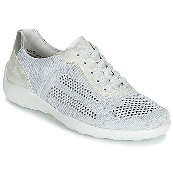 Schoenen Dames Lage sneakers Remonte Dorndorf ZERBA Zilver