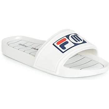 Schoenen Dames slippers Melissa SLIDE + FILA Wit