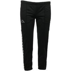 Textiel Dames Trainingsbroeken Kappa Banda Adev Slim Zwart