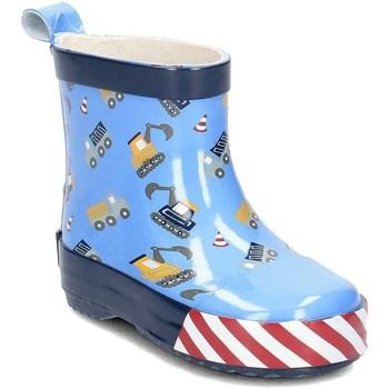 Schoenen Kinderen Regenlaarzen Playshoes 18034817 Blauw