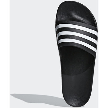 the best attitude 89508 dd212 Schoenen slippers Adidas Essentials Adilette Aqua Slippers Noir  blanc   Noir 50% KORTING
