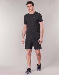Textiel Heren Korte broeken / Bermuda's Under Armour WOVEN GRAPHIC SHORT Zwart