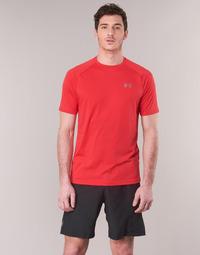 Textiel Heren T-shirts korte mouwen Under Armour TECH 2.0 SS TEE Rood
